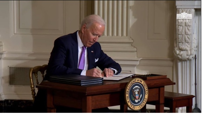 Biden Signing Executive Order